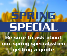 Spring Specials and Promotions